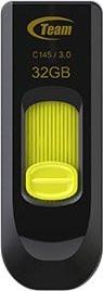 Флеш-накопитель USB3.0  32Gb Team C145 Yellow (TC145332GY01)