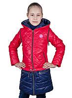 """Весняна куртка для дівчинки """"Трансформер"""""""