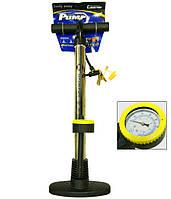 Насос напольный с манометром для мячей и велосипедов XYB-221