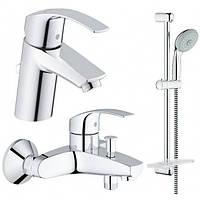 Набор смесителей для ванны Grohe EuroSmart 123238