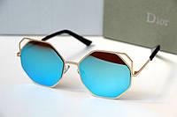 Очки женские от солнца Monster Quattro голубые, магазин очков
