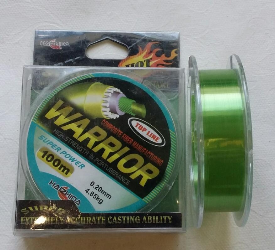 Волосінь WARRIOR 100M ( 0.40 mm )