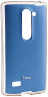 VOIA LG Optimus Leon - Jell Skin (Blue)