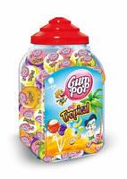 Чупа-чупсы Gum pop 18г (100шт) Tropical