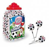 Чупа-чупсы Gum pop 18г (100шт) Football