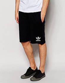 Мужские шорты Adidas черные