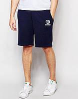 """Мужские шорты """"Adidas"""" т.синие спортивные"""
