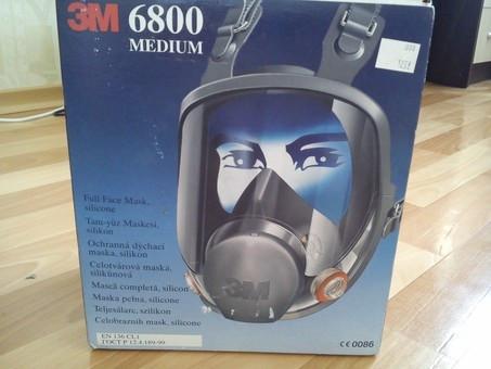 Полнолицевая маска 3М 6800 силикон, фото 1