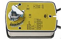 Привод DA5MR24-S2 со встроенной возвратной пружиной и доп контактом для воздушной заслонки
