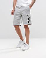 Мужские шорты Venum серый(большой принт)