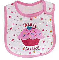 Слюнявчик для кормления Baby Cakes