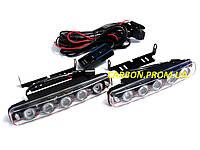 Автомобильные ходовые огни дневного света D03-T1S1 с функцией стробоскопа
