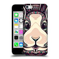 Пластиковый чехол для iPhone 5C узор Ацтекский кролик