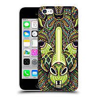 Пластиковый чехол для iPhone 5C узор Ацтекский жираф