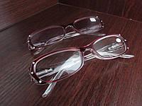 Очки женские в пластмассовой оправе тонированные 8852