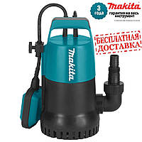 Насос заглибний Makita PF0300 д/чистої води (0,3кВт; 140л/хв; гл.5м; вис.7м; 3,3