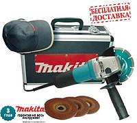 Кут. шліфмаш. Makita GA5030KSP3 (720Вт; 125мм; 11000об/хв)