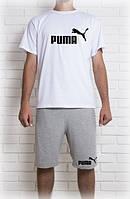 Мужской летний комплект Puma (шорты + футболка)