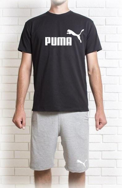 7b362aeedd5a Мужской летний комплект Пума (шорты + футболка) - Хайповый магаз. Supreme  Thrasher ASSC