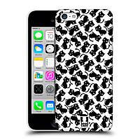 Пластиковый чехол для iPhone 5C узор Черные котята