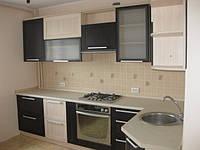 Кухня из  МДФ рамочного  профиля AGT, фото 1