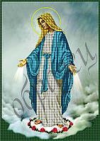 Схема для вышивания бисером Дева Мария КМИ 3019