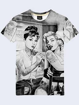 Мужская футболка Мерлин и Одри