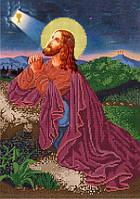 Схема для вышивания бисером икона Иисус Христос в Гефсиманском саду КМИ 3032