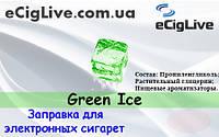 USA GREEN ICE (Зелёный лёд). 10 мл. Жидкость для электронных сигарет.