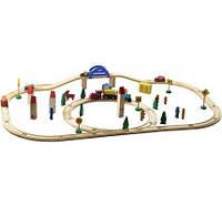 Железная дорога (деревянная) арт. Д286