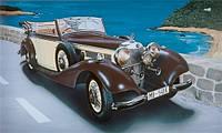 Модель автомобиля - MERCEDES BENZ 540K 1/24