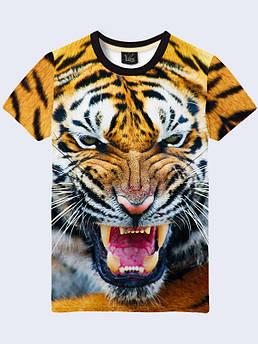 Мужская футболка Тигриный оскал