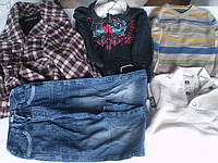 Зимняя детская одежда  3-14 лет секонд хенд.