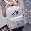Рюкзак  Jordan серый  (реплика), фото 2