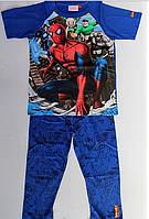 Пижама для мальчика Человек-паук  Disney с коротким  рукавом,