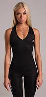 Женский спортивный комбинезон боди черный для спорта  Dark Active