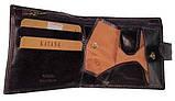 Чоловічий гаманець з натуральної шкіри, фото 2