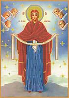 Схема для вышивания бисером Покров Пресвятой Богородицы КМИ 3031