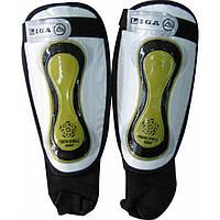 Щитки футбольные с защитой лодыжки,  FB-0868