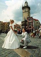Церемония бракосочетания в Замке Карлштейн