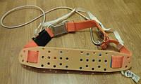 Пояс с энерогопоглощающим устройством с канатным стропом