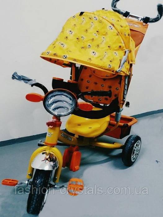 Детский трехколесный велосипед Azimut BC-17B фара