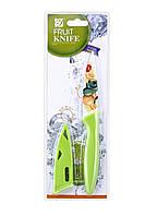 Нож кухонный для очистки овощей и фруктов, с антибактериальным покрытием, Mix + 2 цвета, нож, кухонный нож