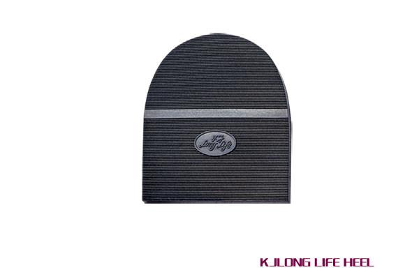 Набойка Лонг-Лайф т. 6,6  мм цвет черный - Евростиль - магазин по продаже мебельной фурнитуры и материалов для ремонта и производства обуви в Киеве