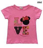 Футболка Love для девочки. 86-92 см, фото 1
