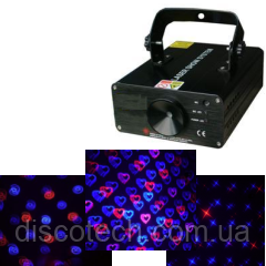 Лазер лучевой R-120mW, B-400mW BIGlights BE523 BLUE RED