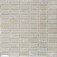 Біла мозаїка для кухонного фартуха Vivacer HL80, фото 1