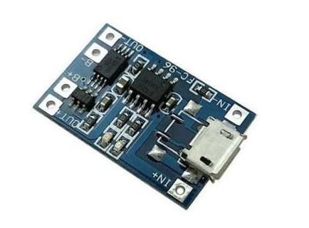 TP4056 модуль плата заряда литиевых LI-ION аккумуляторов 18650 с защитой