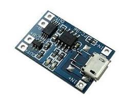 TP4056 micro USB модуль плата заряда литиевых LI-ION аккумуляторов 18650 с защитой