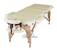 Трехсекционный массажный деревянный стол SOL Comfort